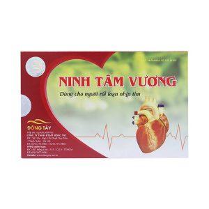 Ninh Tâm Vương - Ổn Định Nhịp Đập Trái Tim (Hộp 3 Vỉ x 10 Viên)