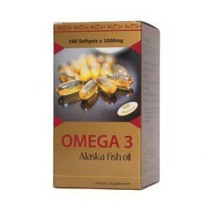Omega - 3 Alaska Fish Oil (Hộp)