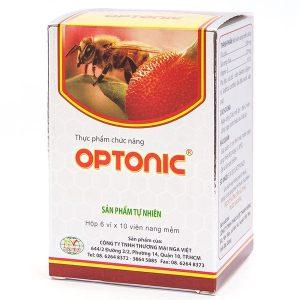 Optonic - Viên Nang Sáng Mắt, Đẹp Da (Hộp 6 Vỉ x 10 Viên)
