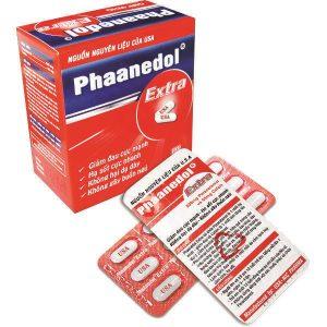 Phaanedol Extra (Hộp 180v) NIC