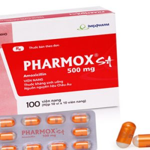 Pharmox 500mg (Hộp 100v) Imexpharm