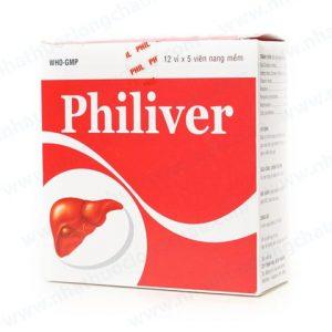 Philiver (Hộp 60 viên) Phil