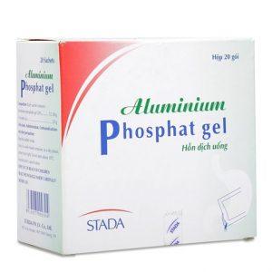 Phosphat gel Aluminium (hộp 20 gói) Stada