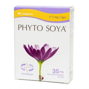 Phyto Soya 17,5Mg - Hỗ Trợ Cân Bằng Nội Tiết Tố Nữ (Hộp 3 Vỉ x 20 Viên)