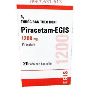 Piracetam 1200 mg (lọ 20 viên) Hung