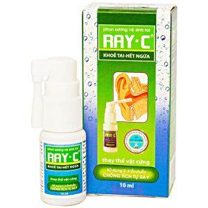 Ray C 10Ml - Phun Sương Vệ Sinh Tai (Chai)