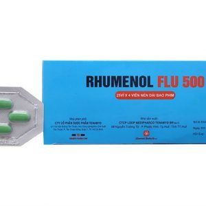 Rhumenol Viên Ấn Độ (Vỉ)