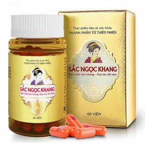 Sắc Ngọc Khang - Viên Uống Trị Nám Tàn Nhang (Chai)