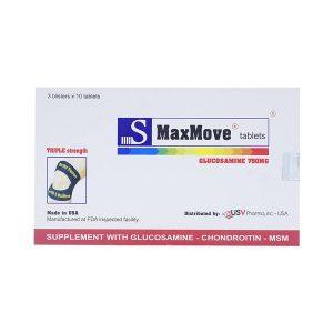 S-Maxmove - Không Còn Nỗi Lo Đau Xương Khớp (Hộp 3 Vỉ x 10 Viên)