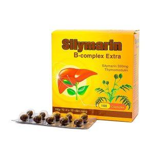 Silymarin B-Complex Extra 10X10 (Hộp 10 Vỉ x 10 Viên)