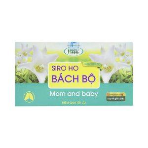 Siro Ho Bách Bộ Mom And Baby 60 Gói X 5Ml Dolexphar (Hộp)