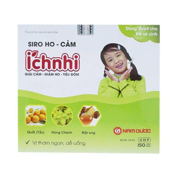 Siro Ho-Cảm Ích Nhi 30 Gói X 5Ml (Hộp)