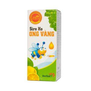 Siro Ho Ong Vàng (Chai)