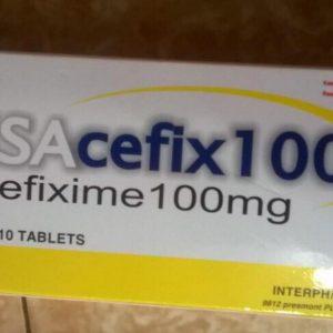 Tab. USACEFIX 100 (Hộp 30 Viên)