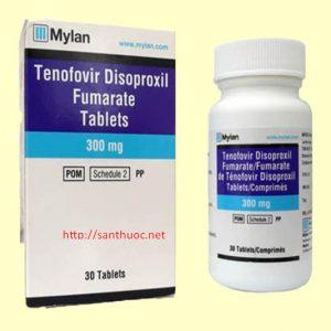 Tenofovir 300 (hộp 30 viên) Ấn Độ