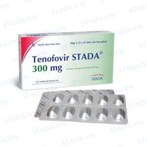 Tenofovir 300 (hộp 30 viên) Stada