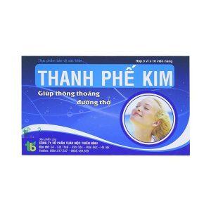 Thanh Phế Kim - Giúp Thông Thoáng Đường Thở (Hộp 3 Vỉ x 10 Viên)
