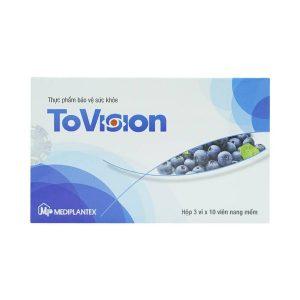 Tovision Mediplantex 3X10 (Hộp 3 Vỉ x 10 Viên)
