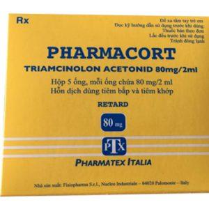 Triamcinolon 2ml Tiêm Ý (hộp 5 ống)