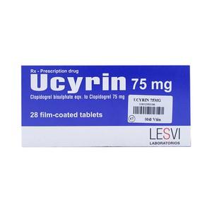 Ucyrin 75mg (Hộp 14v)