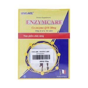 Unicare - Enzym Care (Hộp 3 Vỉ x 10 Viên)