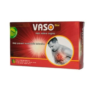 Vaso New- Giúp Giảm Đau Thắt Ngực (Hộp 3 Vỉ x 10 Viên)