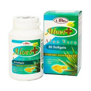 Viên Uống Đẹp Da Ubb Aloes Plus (Hộp)