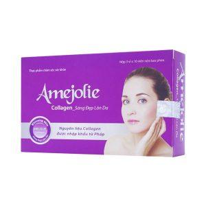 Viên Uống Amejolie 3X10 (Hộp 3 Vỉ x 10 Viên)