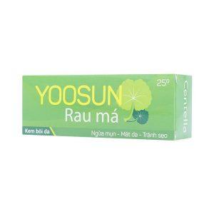 Yoosun Rau Má 25G (Tuýp)
