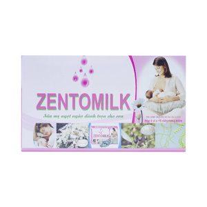 Zentomilk - Tăng Khả Năng Tiết Sữa, Bổ Sung Dinh Dưỡng (Hộp 2 Vỉ x 15 Viên)