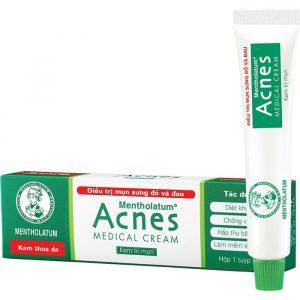 Acnes Medical Cream trị mụn sưng đỏ và đau (Tuýp 18g)