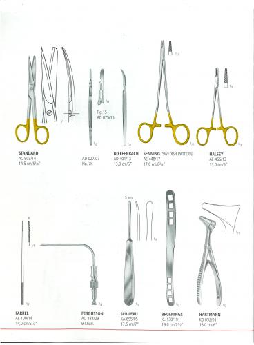 Bộ phẩu thuật cắt tử cung (Hộp 1 bộ)
