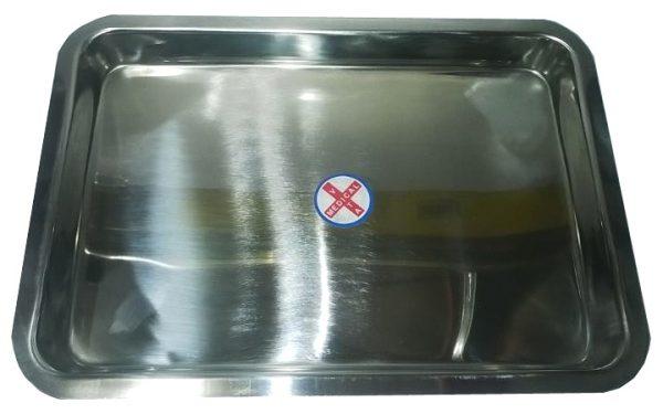 Khay chữ nhật Inox 301-VN (35x50x2cm)