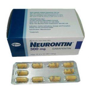 Neurontin 300mg Viên Đức (Hộp)