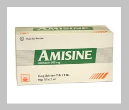 AMISINE (Hộp 10 lọ x 2ml)