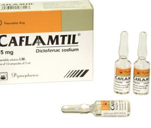 CAFLAAMTIL (Hộp 10 ống x 3ml)
