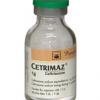 CETRIMAZ (Hộp 1 lọ/ Hộp 10 lọ x 1 g)
