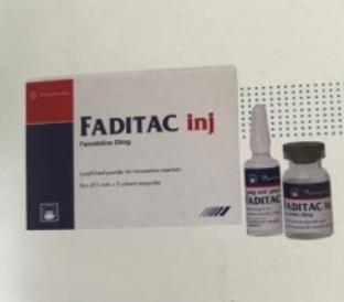 FADITAC Inj. (Hộp 5 lọ x 20 mg)
